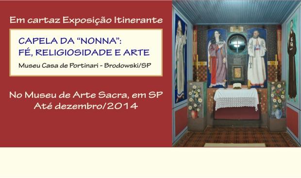 """Exposição Capela da """"Nonna"""" no Museu de Arte Sacra"""