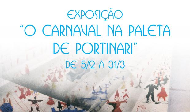 Carnaval na Paleta de Portinari